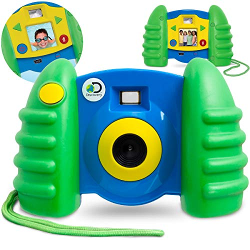 Discovery Kids Digital Camera with 1.5' Color LCD Screen &...