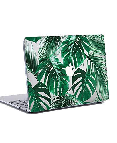 N/S Custodia MacBook PRO 13 Pollici 2019 2018 2017 2016 - Plastica Rigida Cover Duro Caso per MacBook PRO 13.3 con/Senza Touch Bar A1706/ A1708 /A1989/ A2159 - Le Foglie