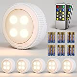 Best Puck Lights - Wireless LED Puck Lights with Remote Control Dimmable Review