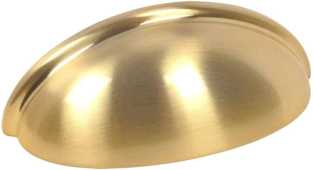 25 Pack - Cosmas 783BB Brushed Cup Sales results No. 1 Hardware Bin Brass SEAL limited product Cabinet Dr