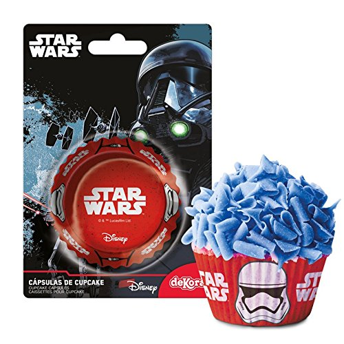 Dekora - 339235 Star Wars Muffins Backformen Set - 50 Stück
