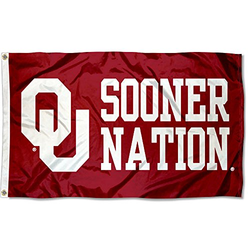 College Flags & Banners Co. Oklahoma Sooners OU Nation Flag