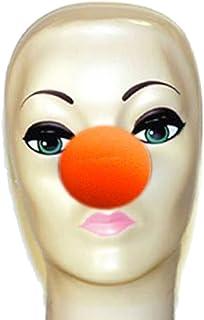 """Magic By Gosh Orange Foam Clown Nose (2"""")"""