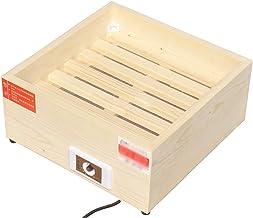 LBSX Calentador de Madera Maciza de Ahorro de energía del hogar Calientapiés Asar Estufa de refrigeración y calefacción (Tamaño: 40 * 40 * 20 cm)