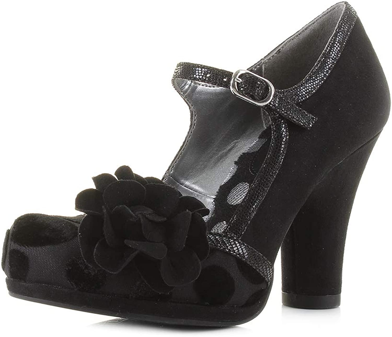Ruby Shoo Womens Hannah black High Heel Black Court shoes Size