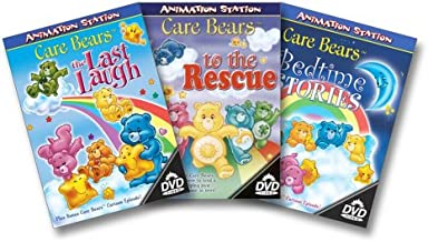 Care Bears 3-Pack Last Laugh / Bedtime Stories / To the Rescue