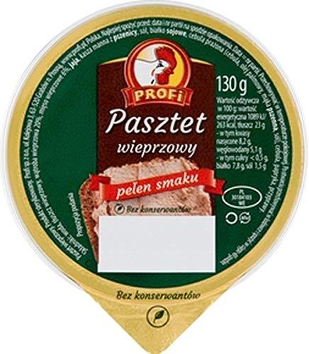 GroßhandelPL Profi Schweinepastete Brotaufstrich Pastete 24er Pack (24x130g)