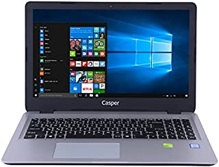 Casper Nirvana C650.8250-4L40T-S 15.6 inç Dizüstü Bilgisayar Intel Core i5 4 GB 500 GB NVIDIA GeForce Windows 10