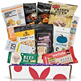 KETO Snack Box: Best Keto Snacks and Treats - Low Carb (5G or less) Low Sugar (2G or less) High Fat Keto Friendly Snacks - Great Keto Care Package