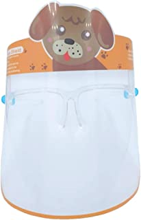 Kids Face Shield with Glass Frame support, Kids face Shield with Animal designs from THEJMED.COM (Dog)