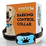AlphaTail Advanced 2in1 Dog Anti Bark Collar, No Bark Collar, NO SHOCK, Harmless