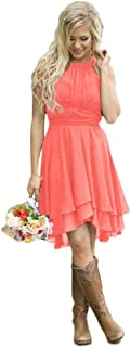 Best coral country dress Reviews