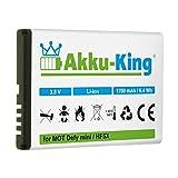 Akku-King Akku kompatibel mit Motorola HF5X Li-Ion 1700mAh - für Defy Mini, Defy Plus, MB526, MB835