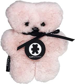FLATOUTbear Baby Rosie 100% Australian Sheepskin Small Teddy Bear