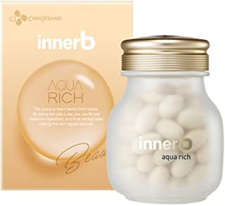 [Inner b] Aquarich 500mg 56capsule for 4week / inner beauty - Eating Moisture Treatment/fill moisture from the inside (56capsule for 4week)