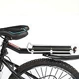 Greensen Portapacchi per Bicicletta, Portapacchi Universale per Portapacchi Posteriore per Accessori per Biciclette per Biciclette Attrezzatura Portapacchi per Biciclette con parafan