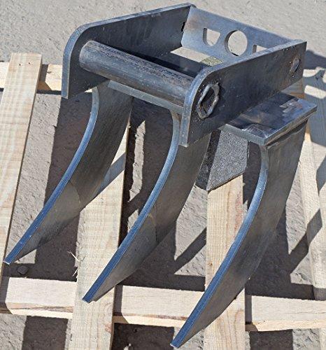 RODER echen, Root Rastrello, Escavatore Rastrello 0,30cm senza registrazione in diversi varianti a scelta 30–150cm