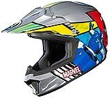 HJC Helmets Marvel Unisex-Child Off-Road Helmet (Multi-Color, Small) (CL-XY II Youth Avengers MC-21)