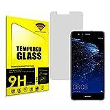 actecom® Protector Pantalla para Huawei P10 Lite Cristal Vidrio Templado