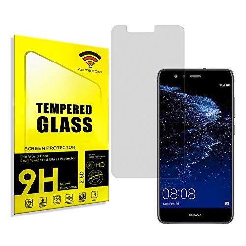 actecom® Protector Pantalla para Huawei P10 Lite P 10 Lite Cristal Vidrio Templado