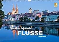 Deutschlands Fluesse (Wandkalender 2022 DIN A3 quer): Deutschlands Fluesse von Rhein und Ruhr bis zur Donau und der Elbe. (Monatskalender, 14 Seiten )