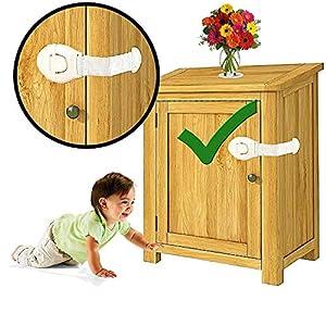 Tony Stark Furniture 6 pcs Door Cupboard, Baby Safety Locks, Cabinet, Fridge, Drawer, Safety Locks for Kids, Baby Safety… 15 51TYg8n+0IL. SS300