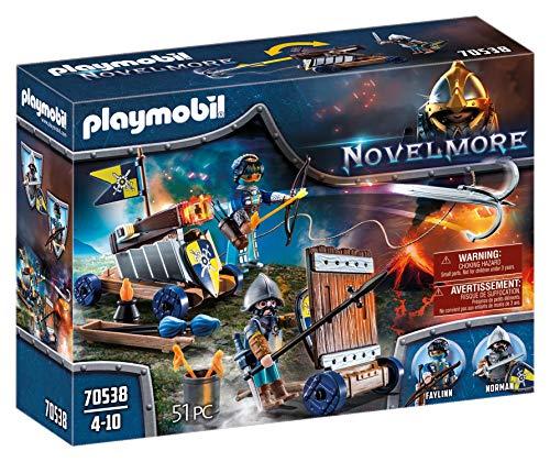 PLAYMOBIL Novelmore 70538 Novelmore Angriffstrupp, für Kinder von 4 - 10 Jahren