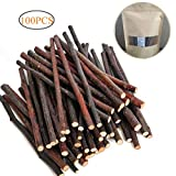 Dproptel 500g Apple Sticks Toys Small Animals Molar Wood Toys Chinchilla Guinea Pig Hamster Rabbit Gerbil Parrot and Small Animals Chew Stick Toys Treats