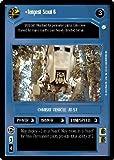 STAR WARS CCG DS ENDOR TEMPEST SCOUT 6 87R
