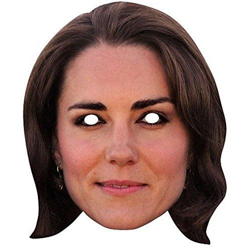 Maske mit dem Gesicht von Kate Middleton (One Size) (Kate, Herzogin von Cambridge)