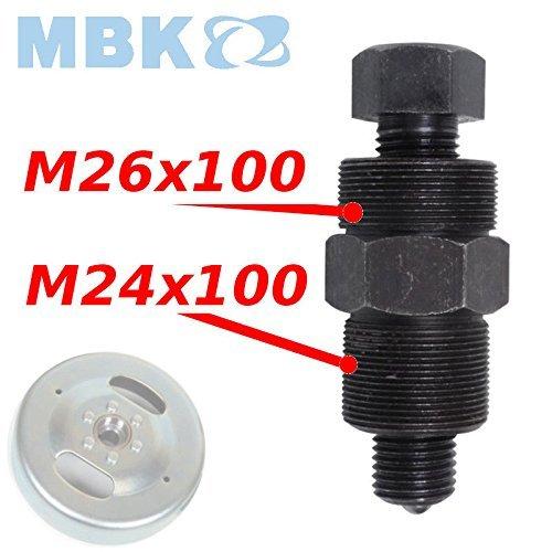 cyclingcolors Extractor de Volante Magnético MBK 41/51, 24-26mm x 100mm