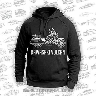 Kawasaki Vulcan Original Hoodie 100% Cotton Free Shipping