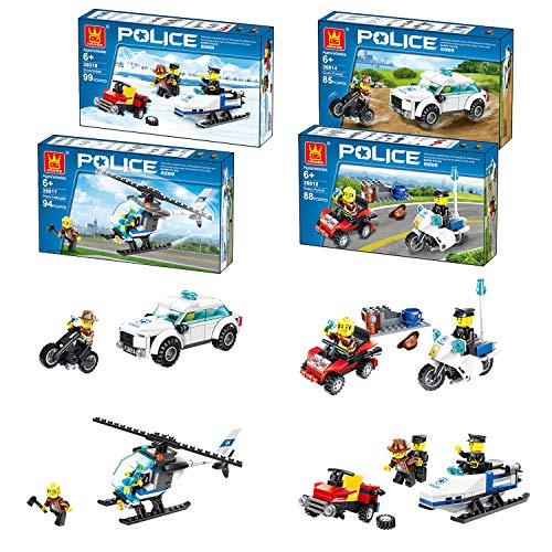 Airel Pack 4 Spiele Bauen Kinder | Puzzle 3D | Konstruktionsspielzeug | Konstruktionsspielzeug Kínder- Erwachsene | Bausteine für Kinder | Pädagogisches Lernspielzeug