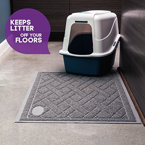 Cat Litter Mat with Litter Lock Mesh,