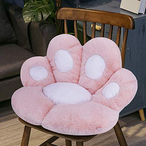 Wendbares Sitzkissen in Bärentatzenform, weich, warm, Plüsch, für Sofa, Büro, lindert Rücken, Steißbein, Ischias, Steißbein, Schmerzlinderung, Stuhlkissen, Bodenmatte