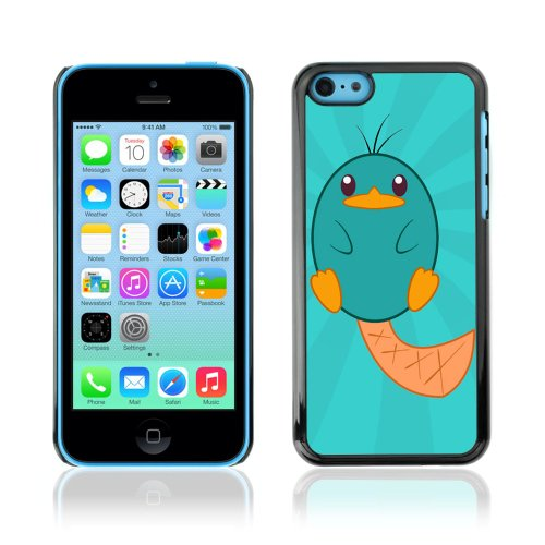 CelebrityCase Polycarbonate Hard Back Case Cover for Apple iPhone 5C ( Platipus Cute Animal )