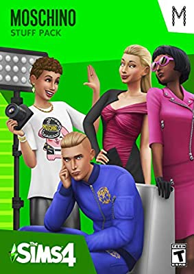 The Sims 4 - Moschino Stuff Pack - [PC Online Game Code]