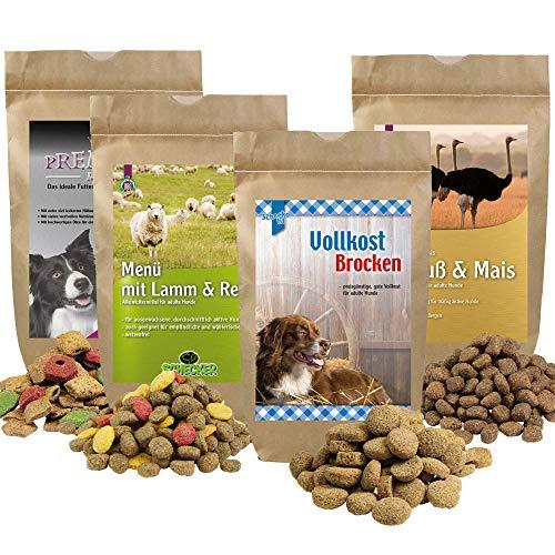 Schecker Trockenfutter Test Paket Dieses Probierpaket hilft Ihnen bei der Suche nach dem geeigneten Trockenfutter für Ihren Hund