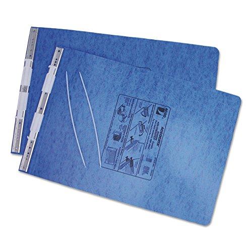 ACCO Pressboard Hanging Data Binder, 11 x 14-7/8 Burst Sheets, Light Blue