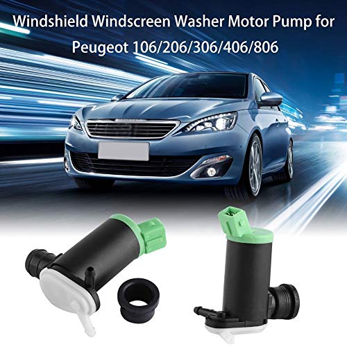 BiuZi ruitenwisser auto windshield ruitenwisser washer motorpomp voor Peugeot 106 206 306 406 806