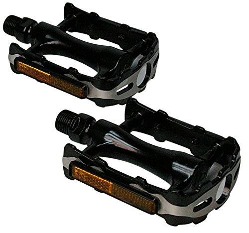 VP Fahrrad Pedale Alu CNC inkl. Reflektor MTB City Trekking Pedal Paar Neu