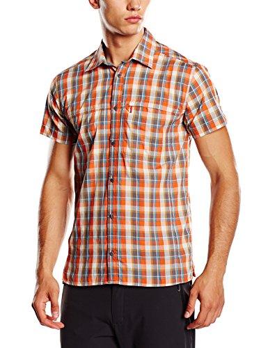SALEWA Herren Hemd 2.0 Dry M Short Sleeve Shirt, M Chatel Ter/Brzb/Sn, 46/S, 00-0000024860