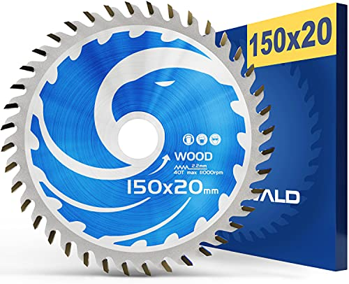 FALKENWALD ® Sägeblatt 150x20 mm ideal...