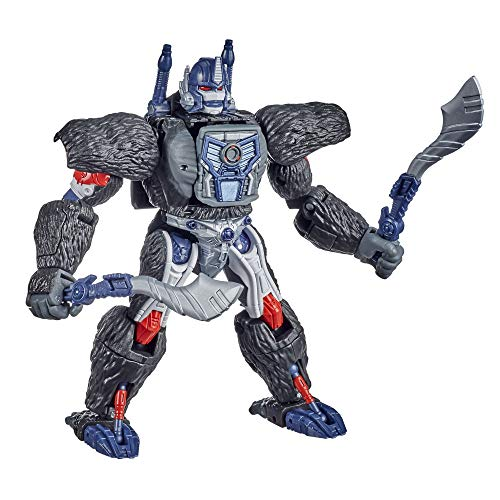 Transformers F0691 Spielzeug Generations War for Cybertron: Kingdom Voyager WFC-K8 Optimus Primal Action-Figur – Kinder ab 8 Jahren, 17,5 cm