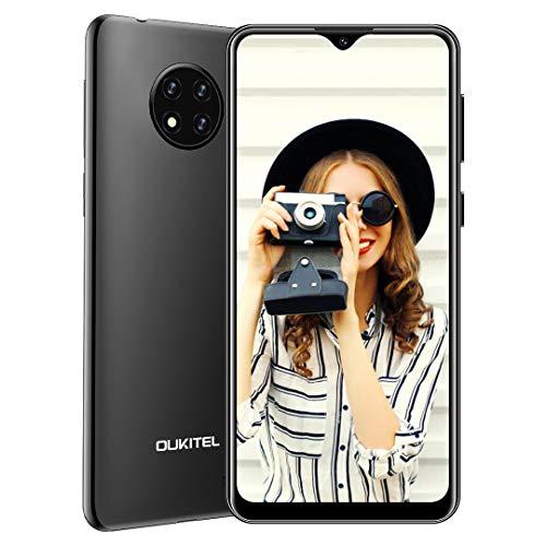 OUKITEL C19 Cellulari Offerte 2020 Android 10.0 4G Smartphone 6,49'' Schermo, Batteria 4000mAh, Fotocamera Tripla da 13 MP, 2 GB + 16 GB 256GB Espandibili Quad Core, Dual SIM