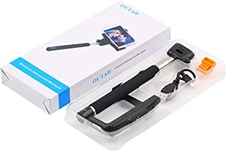 Extensible Selfie Stick With Controls Built-in & Adjustable Clamp Exquisitely Designed Durable Gorgeous