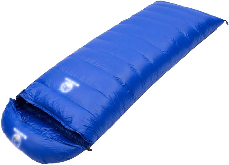 YYSD Daunenschlafsack, Camping Outdoor Reise warmen Schlafsack, Portable Splicing wasserdicht und feuchtigkeitsdichten Single Schlafsack B07J27411W  Bevorzugtes Material