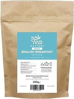 The Tea Masters Hojas sueltas de Té Descafeinado para el