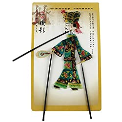 Chinese Traditional Shadow Puppet, Hand Puppet, Wise Man