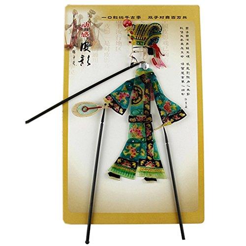 Blancho Marionnette chinoise traditionnelle d'ombre - Marionnette à main - Homme sage